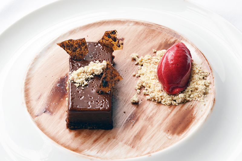 Oval Room Chocolate Dessert