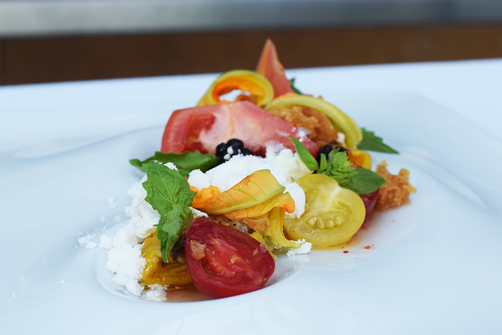 Oval Room Tomato Salad